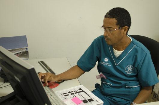 Aprendiz SENA de Villa Gloria, en rotaciones clínicas de formación técnica en Apoyo administrativo en salud.