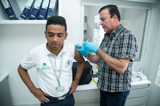 Cesar Barbosa, de Tierra Baja, aprendiz SENA de Apoyo administrativo en salud.