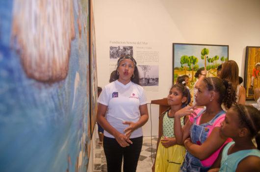 Exposición Pescando Sueños del artista de Tierra Baja, Moisés Zabaleta