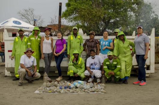 Resultados de la 1era Jornada de limpieza y siembra LimpiArte en Villa Gloria