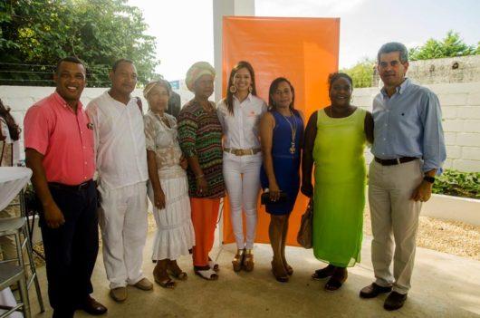 Las comunidades Manzanillo del Mar, Tierra Baja y Villa Gloria se hicieron presente en el lanzamiento de nuestra sede en Tierra Baja como muestra de su apoyo y trabajo comunitario.
